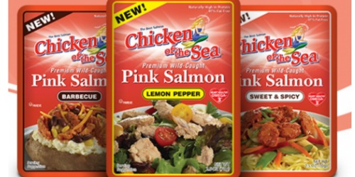 *HOT* $1/1 Chicken of the Sea Salmon Pouch Coupon = FREE at Walmart + More