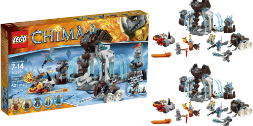 Amazon: LEGO Legends of Chima Mammoth's Frozen Stronghold Only $37.45 (Regularly $59.99)