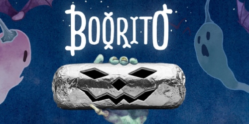 Chipotle: $3 Burrito, Bowl, Salad Or Tacos w/ Costume Attire (October 31st Only)