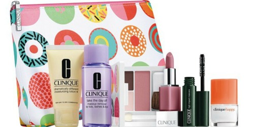 Clinique Perfume Set + 7-Piece Gift Set + Body Cream + Gloss ONLY $55 Shipped ($150+ Value)
