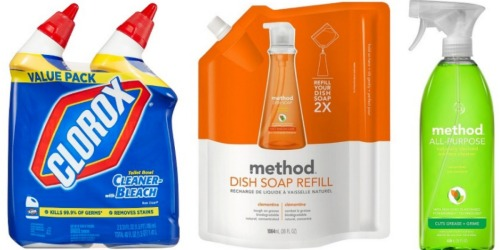 Target.com: Nice Deals On Clorox and Method Household Cleaners