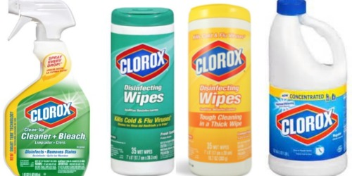 New $1/2 Clorox Product Coupon