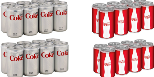 NEW $1/2 Coca-Cola Cans 8 Pack Coupon = Nice Deal At Walgreens