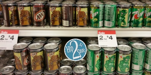 Target: 7UP, A&W, Canada Dry & Sunkist Soda 6-Packs Only $1.40 Each