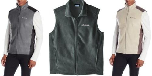 Amazon: Columbia Men's Fleece Vest as Low as $16.95 (Regularly $45)