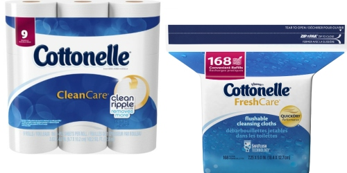 New Cottonelle Coupons = Clean Care Toilet Paper Just 37¢ Per BIG Roll at CVS + More (Starting 10/2)