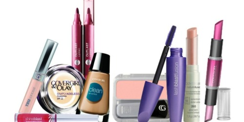 NEW CoverGirl Coupons = FREE Cosmetics at Rite Aid + Nice Deal at CVS