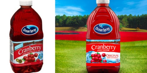 CVS: Ocean Spray Cranberry Juice Only $1