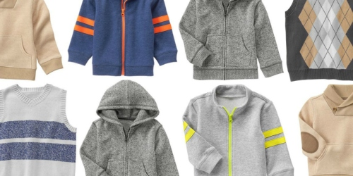 Crazy 8: Free Shipping on ANY Order = Fleece Jackets, Sweater Vests & More $11.93 or LESS Shipped