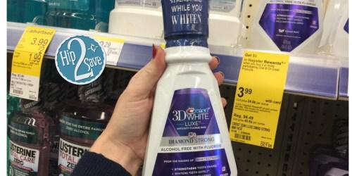 Walgreens: Crest Pro-Health or 3D White Mouthwash $1.07 Each (After Register Reward)
