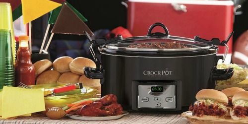 Kohl's Cardholders: Crock-Pot 7qt Slow Cooker Only $24.38 Shipped (After Rebate)