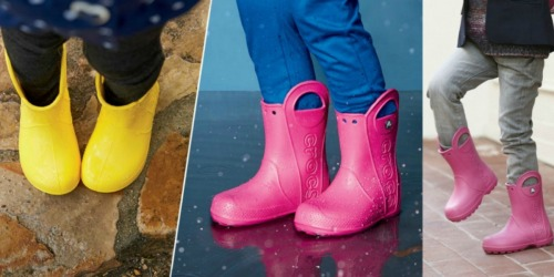Crocs.com: Kid's Rain Boots Only $17.49 Each (Regularly $34.99) + More
