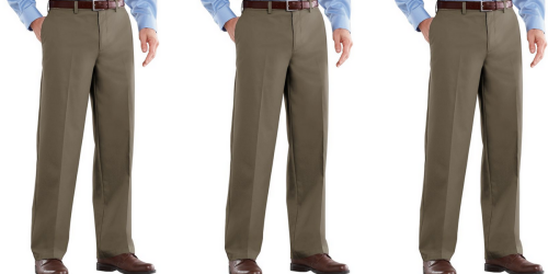 Kohl's Cardholders: Men's Croft & Barrow Dress Pants $11 Each Shipped (Regularly $48)