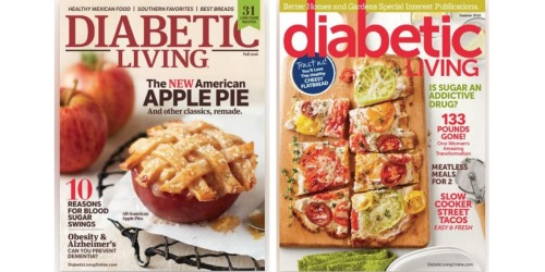 FREE Diabetic Living Magazine Subscription