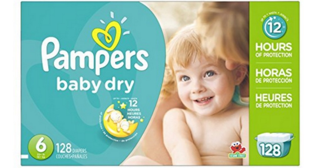 b8fe8f7f70b40 Amazon Family Members  Pampers Baby Dry Size 6 Diapers 128-Count ...