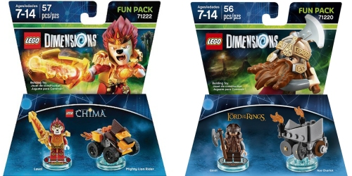 Five Below: LEGO Dimensions Fun Packs Only $2.50 Each (Regularly $10+)