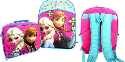 Target.com: Disney 12″ Frozen Mini Kids Backpack with Lunch Kit Only $6.98 Shipped (Reg. $19.99)