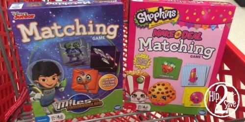 Target: Buy 1 Get 1 FREE Disney Matching Games = Only $2.95 Each