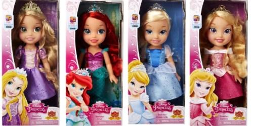 Disney Princess Toddler Dolls Only $9.88 (Regularly $19.67)
