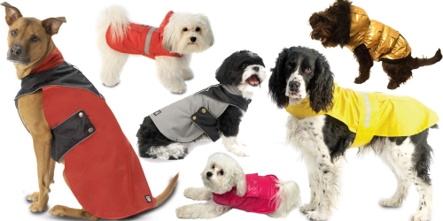 Kohl's Cardholders: Rain Slickers & Coats For Dogs As Low As $5.59 Shipped (Regularly up to $29.99)