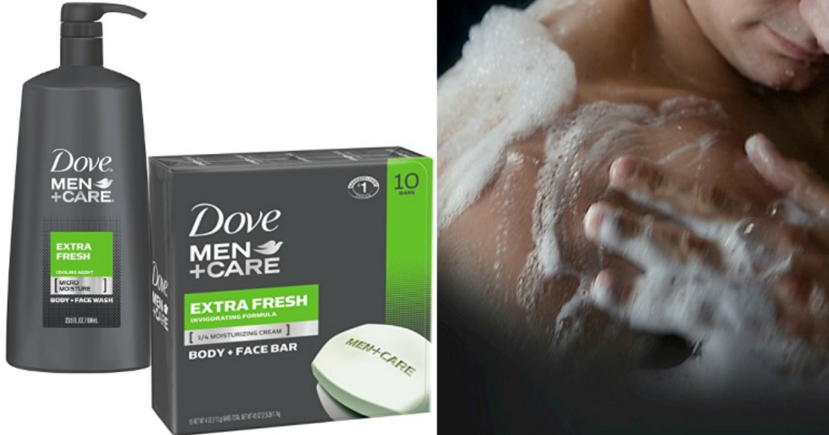 Amazon Dove Men Care Body Wash Big 23 5 Oz Only 4 98 Shipped More Hip2save