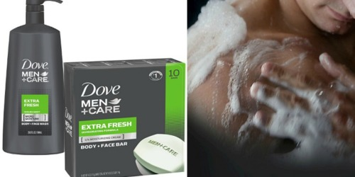 Amazon: Dove Men+Care Body Wash BIG 23.5 oz Only $4.98 Shipped & More