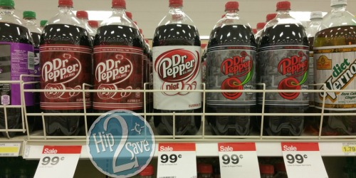 Target: Great Deals on Dr. Pepper – 2 Liter Only 74¢, 6-Pack Only $1.86 & More