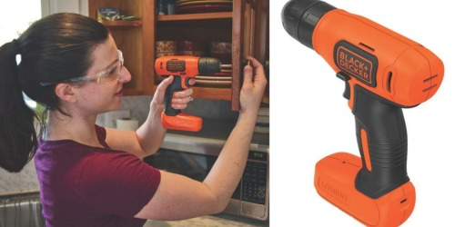 Amazon: Black & Decker Lithium Drill Only $21.15 (Great for Small Home Projects)