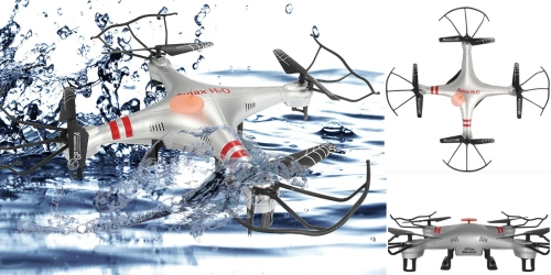 Amazon: Aviax Water-Resistant Drone Only $39.99