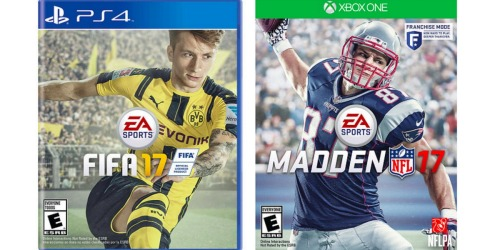 ToysRUs: EA Sports Video Games Only $35 Each – Madden 17, FIFA 17 & More (Reg. $59.99)