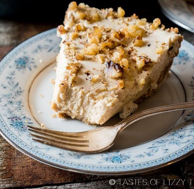 Easy Creamy Maple Nut Pie