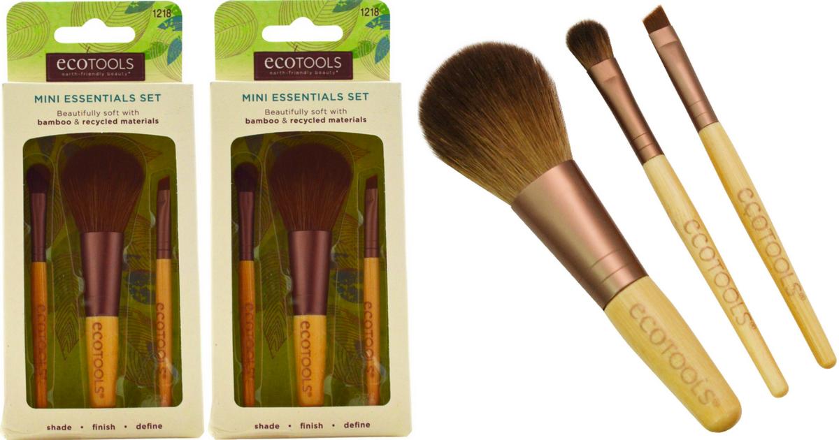 Walmart: FREE EcoTools Mini Makeup Brush Set (After Ibotta