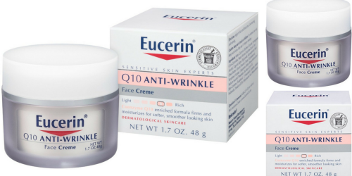 Amazon Prime: Eucerin Anti-Wrinkle Skin Creme Only $5.64 Shipped