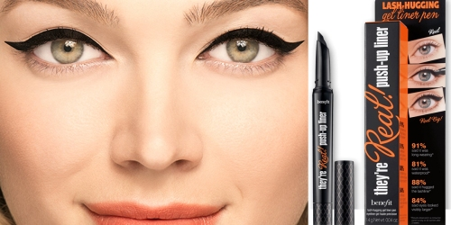 Macy's: Benefit Cosmetics Push-Up Eyeliner AND Lancome Cream Sample Only $12 Shipped