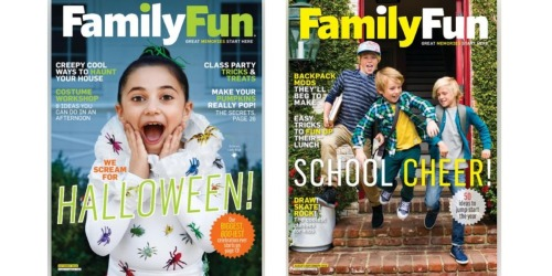 FREE Family Fun Magazine Subscription