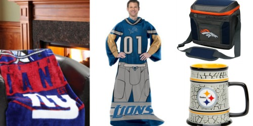 Fanatics: $25 Off $50 Purchase w/ Visa Checkout = Awesome Buys on Plush Blankets, Snuggies + More