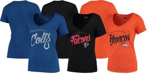 Women's NFL V-Neck T-Shirts Only $20.99 Shipped (Regularly $29.99)