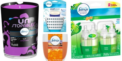 Print Over $11 in New Febreze Coupons Now ( + Target Gift Card Promo)