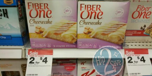 Target: Fiber One Cheesecake Bars Only 75¢ (After Checkout 51)