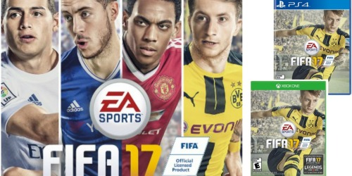 Amazon Prime: FIFA 17 Only $47.99 Shipped (Regularly $59.99) + Nice Deal at Best Buy
