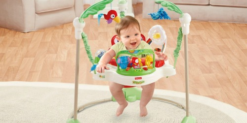 Fisher-Price Rainforest Jumperoo Only $59.49 Shipped (Regularly $104.99)