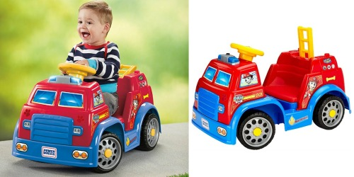 Amazon: Fisher-Price Power Wheels PAW Patrol Fire Truck Only $61.25 Shipped (Regularly $119.99)