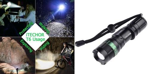 Amazon: iTech Super Bright LED Flashlight Only $5.99 (Regularly $19.99)