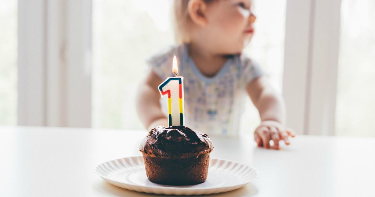 Thrifty Foods 1st Birthday Cake