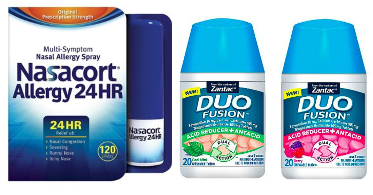 photograph relating to Nasacort Coupon Printable named Emphasis: Much better Than No cost Nasacort Allergy Spray AND Zantac