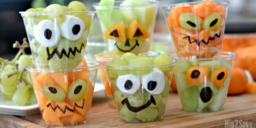 Fresh Fruit Halloween Cups (Easy & Fun Treat Idea)