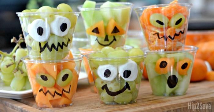 Fresh Fruit Halloween Cups (Easy & Fun Treat Idea)