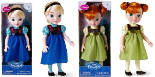 JCPenney: Disney Elsa or Anna Toddler Doll Only $13.99 Each (Regularly $24)