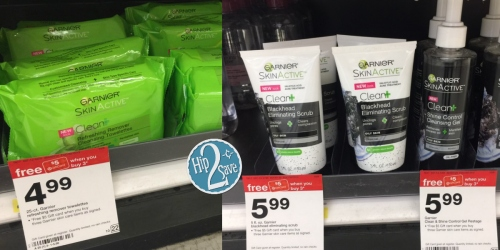 Target: FREE $5 Gift Card with Purchase of 3 Garnier Skin Care Items = Only $2.32 Each (Reg. $6.99)