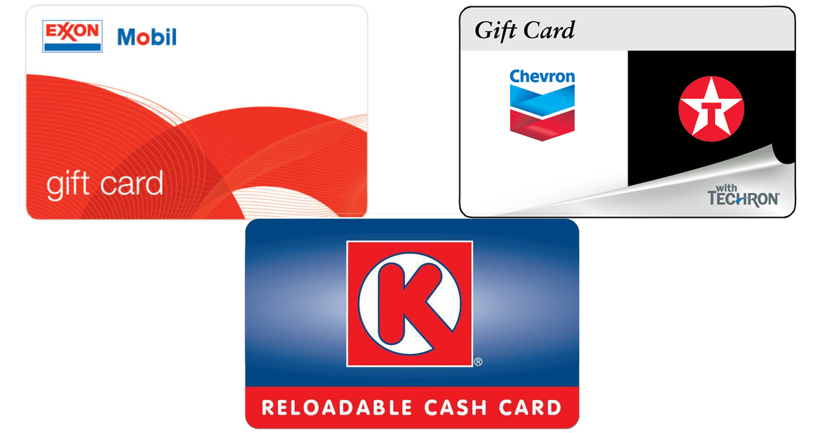 Save on Gas! $100 Gas Gift Card Only $92 Shipped (Exxon